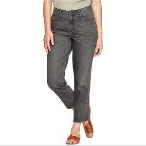 Universal Thread High Rise Straight Black Jeans